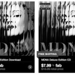 MadonnaのALBUM「MDNA」のプロモ